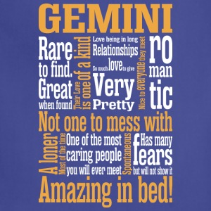 Gemini Amazing In Bed - Adjustable Apron