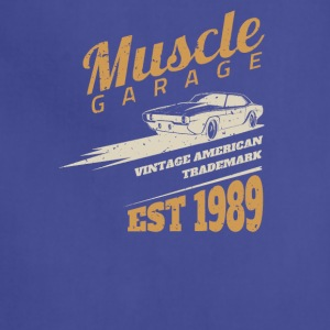 American muscle car Grage - Adjustable Apron