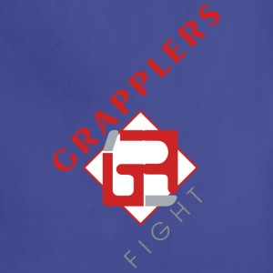 Dynamic 001 grapplersfight LOGO Front - Adjustable Apron