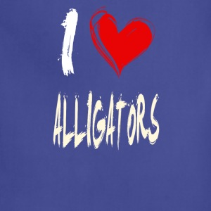 I love Alligators - Adjustable Apron