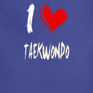 I love TAEKWONDO - Adjustable Apron