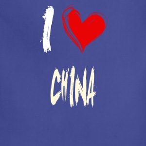 I love CHINA - Adjustable Apron