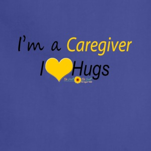 Yellow Caregiver Hugs - Adjustable Apron