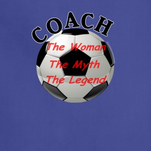 Soccer Coach The Woman The Myth The Legend - Adjustable Apron