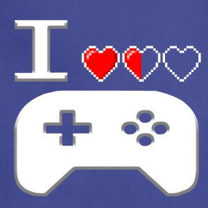 I Love Gaming White - Adjustable Apron