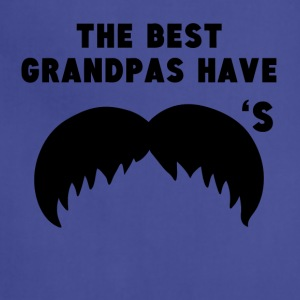 The Best Grandpas Have Mustaches - Adjustable Apron