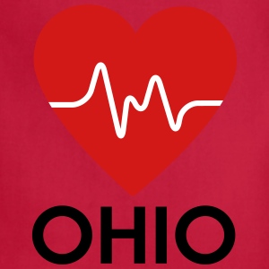Heart Ohio - Adjustable Apron