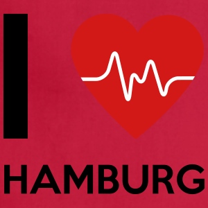 I Love Hamburg - Adjustable Apron
