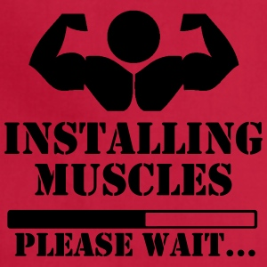 Installing muscles, please wait loading - Adjustable Apron