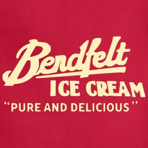 Bendfelt Ice Cream - Adjustable Apron