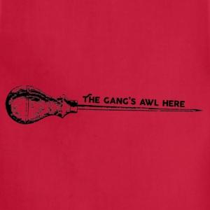 The gang's awl here - Adjustable Apron