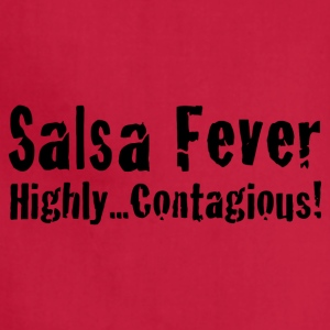 Salsa Fever Highly Contagious! - Adjustable Apron