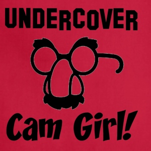 Undercover Cam Girl - Adjustable Apron