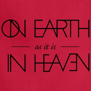 On Earth as it is in Heaven - Adjustable Apron