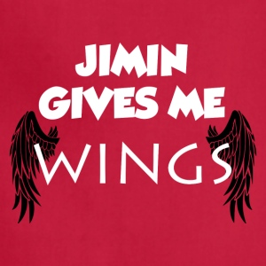 Jimin Gives Me Wings Shirt - Adjustable Apron