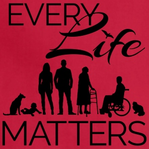 Every Life Matters - Adjustable Apron