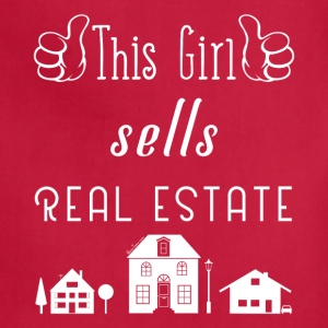 This Girl Sells Real Estate for Property Managers - Adjustable Apron
