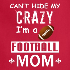 Crazy Football Mom - Adjustable Apron