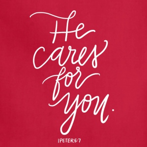 He Cares For You - Adjustable Apron
