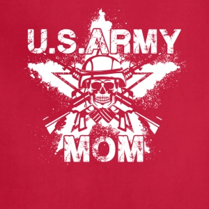 US Army Mom Shirt - Adjustable Apron