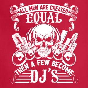 Few Men Become DJ Shirt - Adjustable Apron