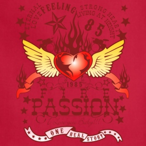 fire passion - Adjustable Apron
