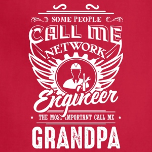 Engineer Grandpa Shirt - Adjustable Apron