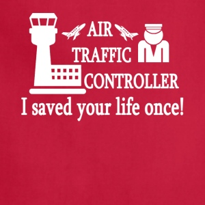 Air Traffic Control Tee Shirt - Adjustable Apron