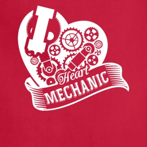 I Heart Mechanic Shirt - Adjustable Apron