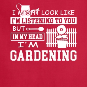 Gardening Tee Shirt - Adjustable Apron