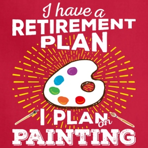 Retirement Plan Painting (light) - Adjustable Apron