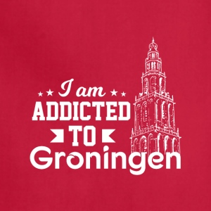I Am Addicted To Groningen MartiniTower - Adjustable Apron