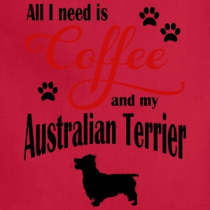 Australien Terrier Coffee - Adjustable Apron