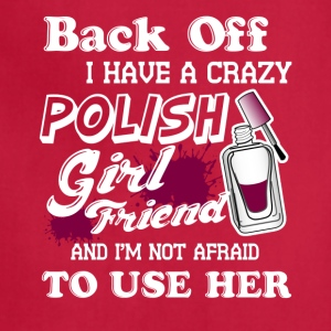 POLISH GIRL FRIEND TEE SHIRT - Adjustable Apron