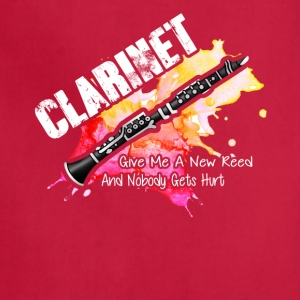 Funny Clarinet Shirt - Adjustable Apron