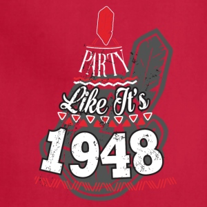 Party Like is 1948 Cleveland Indians - Adjustable Apron