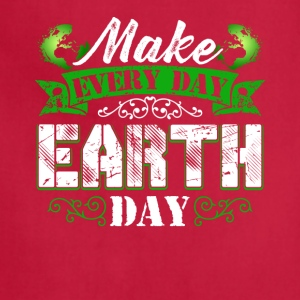 Make Everyday Earth Day Tee Shirt - Adjustable Apron