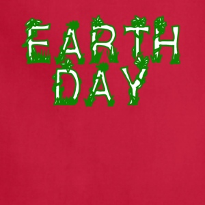 Earth Day Tee Shirt - Earth Day 2017 - Adjustable Apron