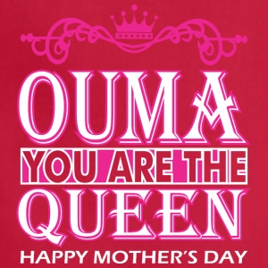 Ouma You Are The Queen Happy Mothers Day - Adjustable Apron