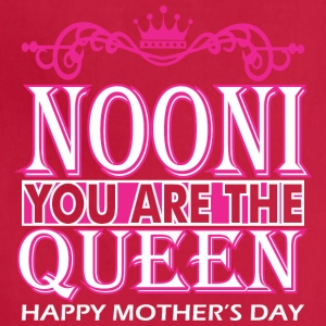 Nooni You Are The Queen Happy Mothers Day - Adjustable Apron