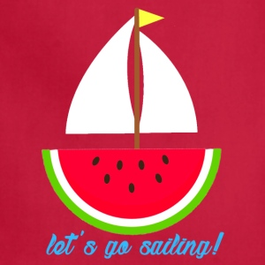 Watermelon Boat - Adjustable Apron