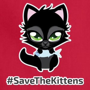 #SaveTheKittens - Adjustable Apron