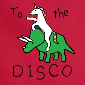 Come On Disco With Unicorn - Adjustable Apron