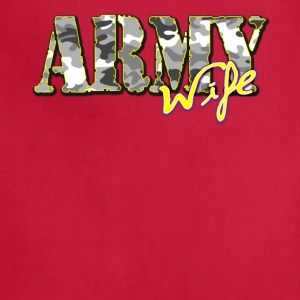 Proud Army Wife - Adjustable Apron