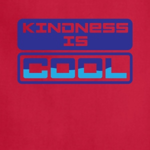 Kindness Is Cool Graphic Tee Shirt - Adjustable Apron
