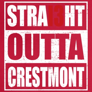 Straight outta crestmont - Adjustable Apron