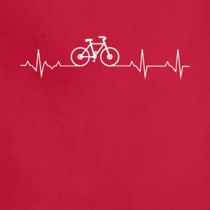 Cycling Heartbeat Lover - Adjustable Apron