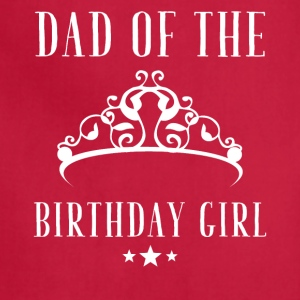 Dad of the birthday girl - Adjustable Apron