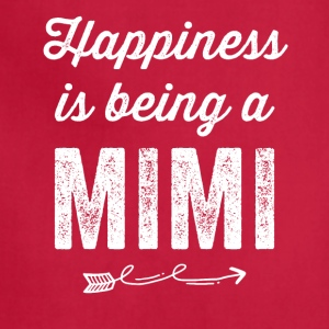 Happiness is being a mimi - Adjustable Apron