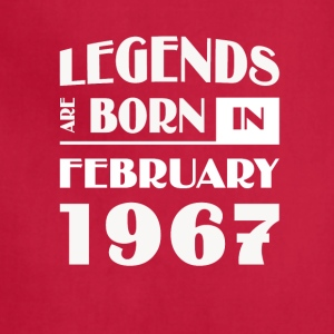 Legends are born in February 1967 - Adjustable Apron